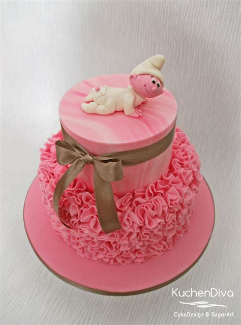 Smurfs Baby Shower Theme by Smurfs Cake Baby Shower Baby Shower Themes Baby Cake
