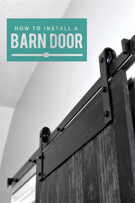 how to hang a sliding barn door best 25 interior sliding doors ideas on