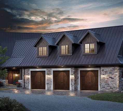 3 Door Garage | 60 residential garage door designs pictures