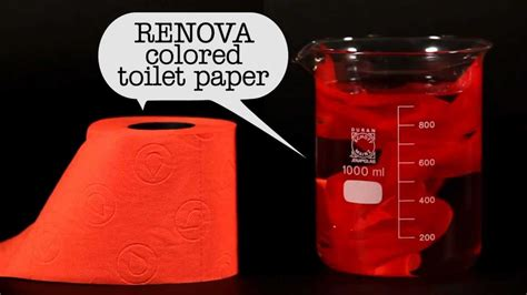 renova colored toilet paper safe  sewers  septic