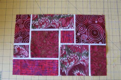 Square And Rectangle Quilt Patterns modern quilt block organicquilter
