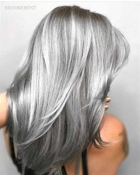 hairstyles grey 45 45 silver hair color ideas for grey hairstyles koees blog