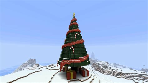 minecraft christmas tree explodes youtube