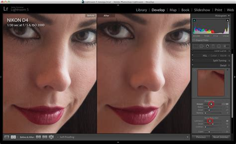 lightroom tutorial noise reduction how to control noise for better portraits in lightroom