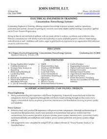 resume sles for freshers engineers ecetris click here to download this electrical engineer resume template http www resumetemplates101