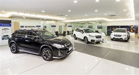 subaru showroom malaysia subaru 4s centre opens in cheras autoworld com my