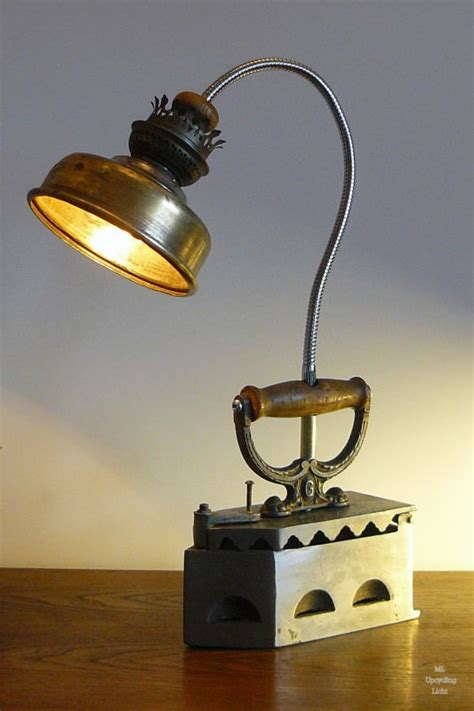 Kitchen Office Organization Ideas upcycled lamps recyclart