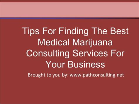 Finds The Best Mba Consultant For You by Tips For Finding The Best Marijuana Consulting