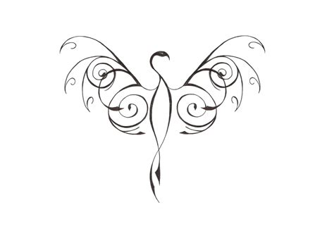 simple phoenix tattoo designs designs 05 the collectioner
