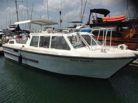 second hand boats for sale singapore snow white working boat for sale in singapore adpost