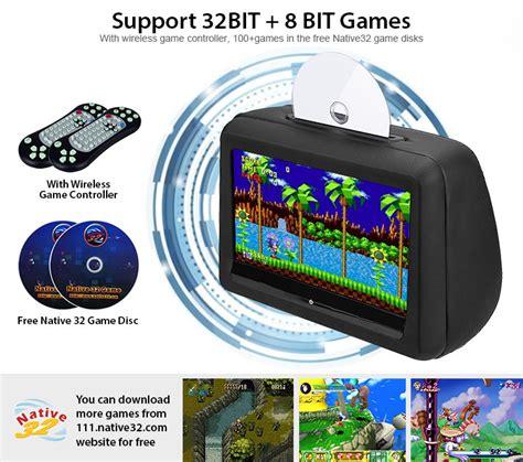 dvd player games format 2x 10 1 quot headrest dvd player hd touch screen monitor