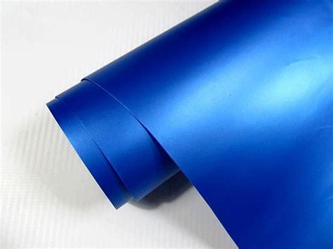 Autofolie Blasen Entfernen by Auto Folie Blau Metallic Matt 1000 X 152 Cm 6 00 Qm Inkl