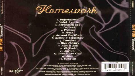 daft punk homework songs daft punk homework full album youtube