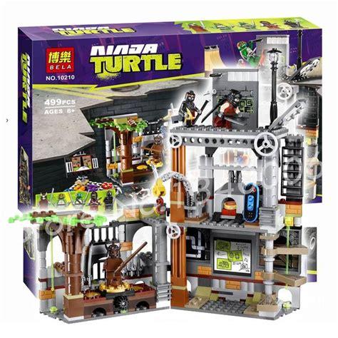 Brick Bela 10278 Tmmt Turtle Lair get cheap hydrant aliexpress alibaba