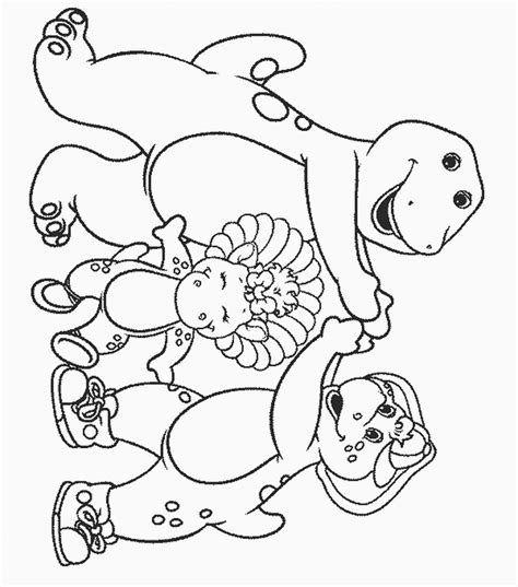 barney coloring pages pdf barney and friends coloring pages coloring home