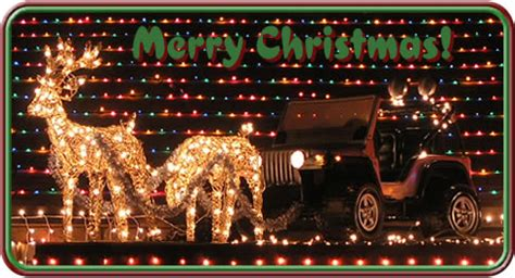 christmas jeep card it was all done now