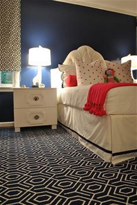 navy and pink bedroom navy white coral bdr on navy pillows and rugs