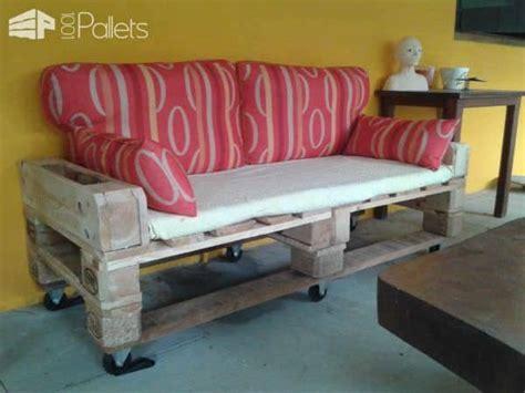 canape en palette canap 233 de jardin en palettes pallets garden sofa 1001