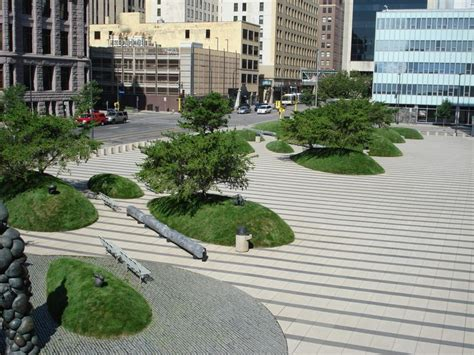 Landscape Architect Minneapolis Minneapolis Courthouse Plaza Minneapolis Mn Usa 1997
