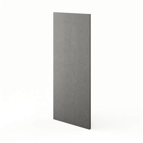 joue meuble cuisine joue meuble haut de cuisine gris shadow l 37 x h 92 cm