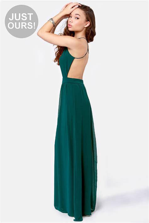 lulu s sexy backless dress teal dress maxi dress 49 00