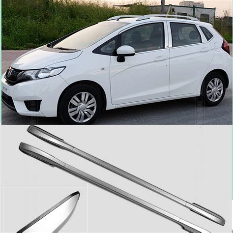 2012 honda fit roof rack decorative side bars rails roof rack silver fit for honda fit jazz 2014 2015 china mainland