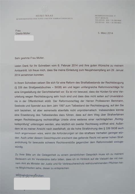 Schreiben Gericht Muster Rechtsbeugung Wikimannia