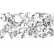 2010 Honda TRX420FA Complete Wiring Harness Diagram  Below Schematic