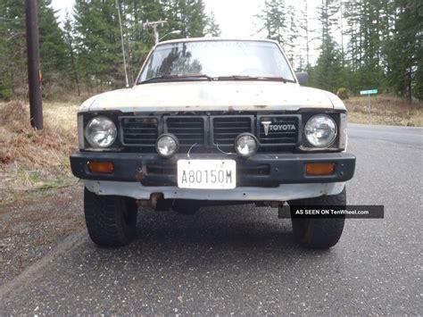 toyota pickup 4x4 1981 toyota pickup truck 4x4 22r hilux
