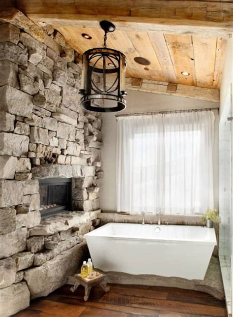 Rustic Bathrooms Images by 15 Rustic Bathroom Designs You Will