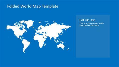 plain world map clipart for powerpoint slidemodel