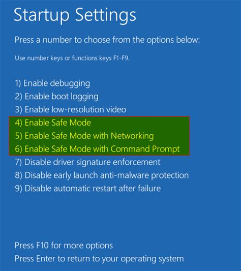 how to boot to safe mode in windows 8 next of windows