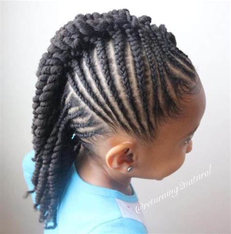 Images Of Kids Hair Braiding In A Mohalk | 263 best images about mod 200 les cheveux enfants on pinterest