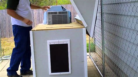dog house with ac air conditioned dog house youtube