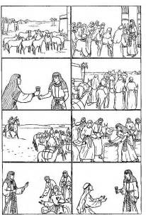 6 images of egypt coloring page joseph in jail bible