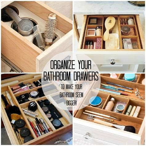 Organizing Drawer by Bathroom Organization