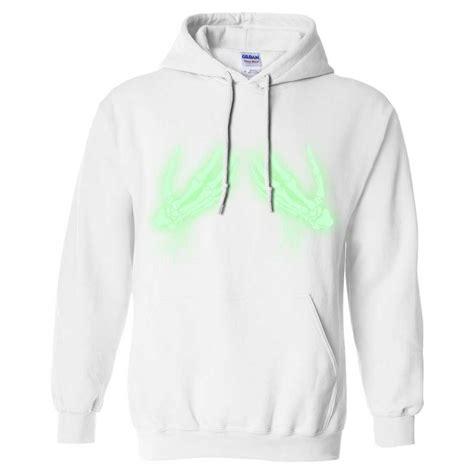 Hoodie Zipper Glow In The Bonek 1 glow in the skeleton sweatshirt hoodie ebay