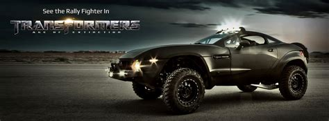 Auto Rally Transformer 4 by The Off Road Cars From Transformers Age Of Extinction A