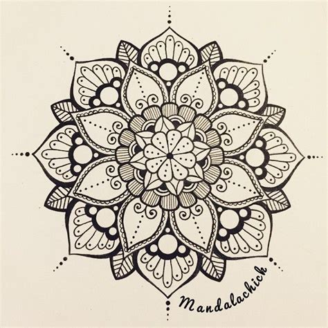 drawn tattoo mandala pencil and in color drawn tattoo