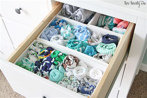 Baby In Drawer by Nursery Dresser Organization