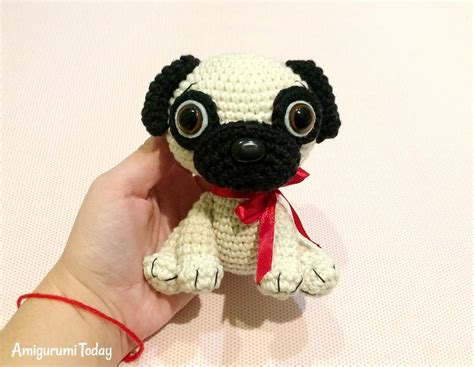 pug products shop baby pug amigurumi pattern amigurumi today
