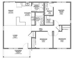 Floor Plan 3 Bedroom Floor Plan For Affordable 1 100 Sf House With 3 Bedrooms