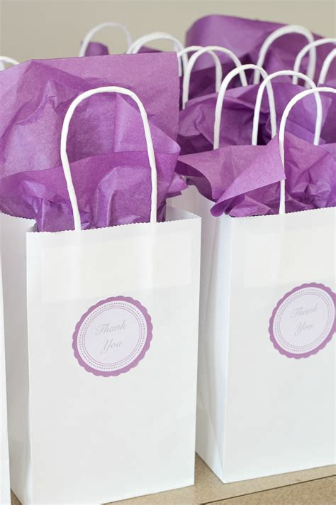 Wedding Favors Bags by Chagne Bridal Shower For Pennies