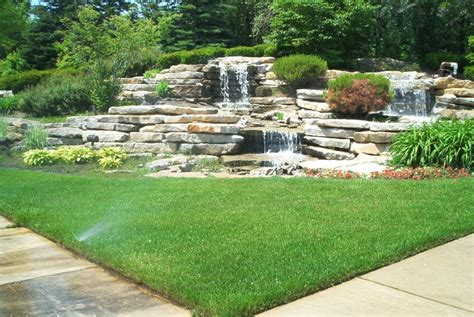 Backyard Ideas Landscaping 50 Pictures Of Backyard Garden Waterfalls Ideas Designs
