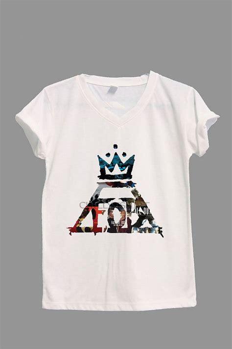 Tshirt Fall Out Boy Fob fob symbol shirt fall out boy shirts v neck tshirt t shirt