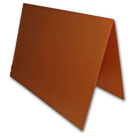 Overstock Discount Gift Card - stardream metallic copper a7 folded invitation cards 25 pk overstock