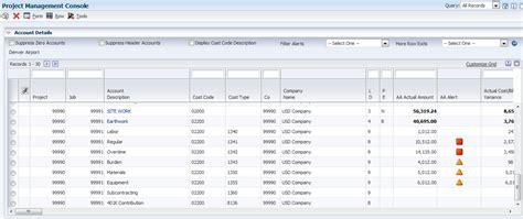 viewing job and billing data