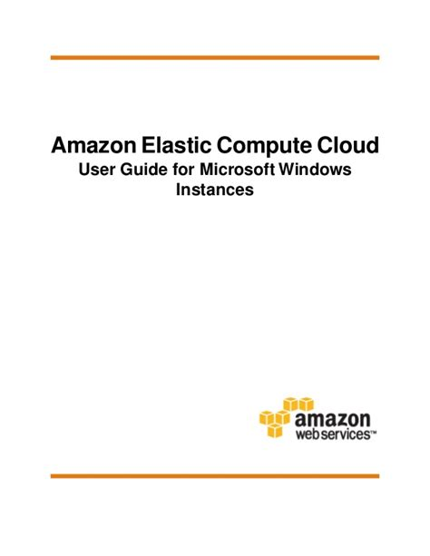tutorialspoint aws amazon elastic compute cloud user guide for microsoft