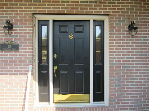 Door With Sidelights black door with sidelights cortazzo construction