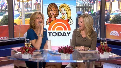 kathie lee gifford impersonation hoda reacts to matt s impersonation on ellen today